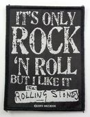 The Rolling Stones - 'It's Only Rock 'n Roll' Woven Patch